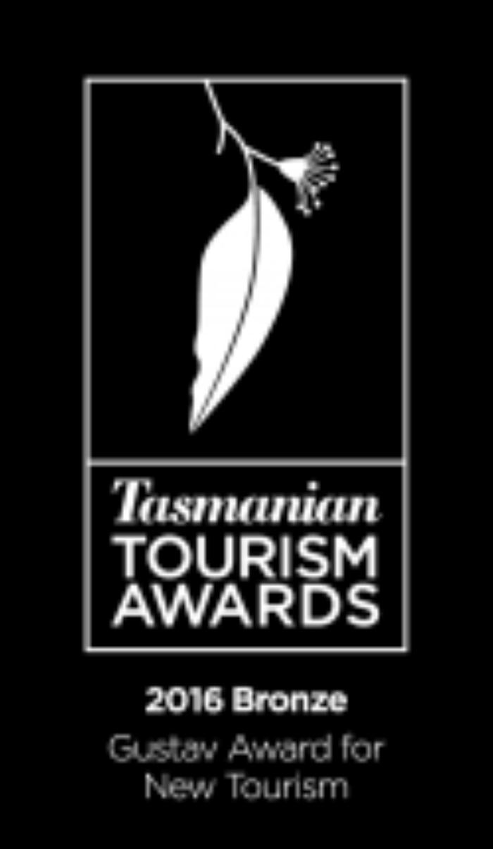 Bronze Gustav Award New Tourism 2016 Reversed 125X215
